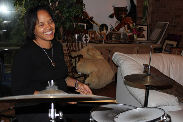 Terri Lyne Carrington (photo by Gary Paris)